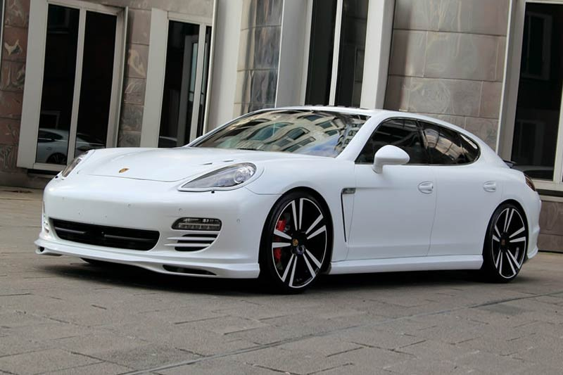 Anderson Germany Porsche Panamera GTS White Snow Edition