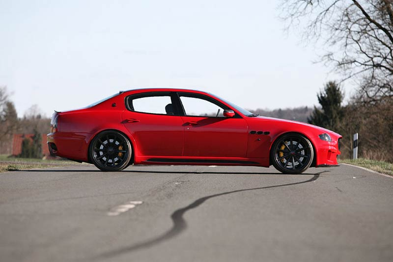 Maserati Quattroporte Tuning by CDC-PERFORMANCE