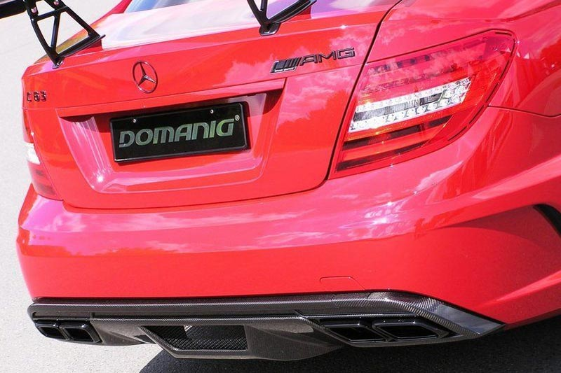 Mercedes-Benz C63 AMG Black Series von Domanig Autodesign.