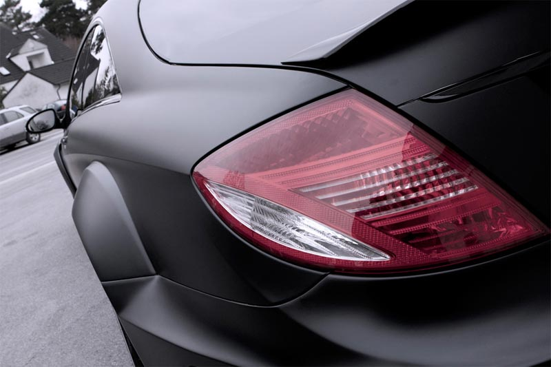 Mercedes-Benz CL 500 Widebody-Karosseriekit Black Matte Edition
