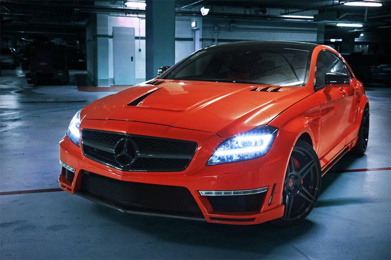Mercedes-Benz CLS 63 AMG  - Tuning