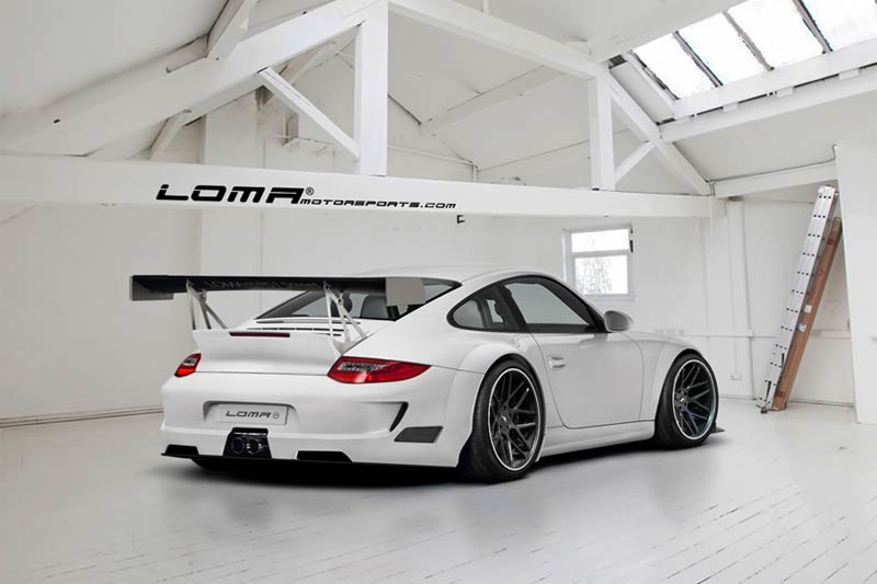 LOMA® RS1 Street Widebody Kit auf Basis des 911GT3 R