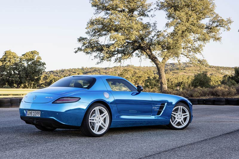 SLS AMG Coupé Electric Drive - AMG Supersportler mit Elektroantrieb