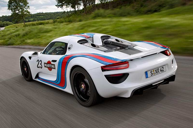 Porsche 918 Spyder Martini-Racing.