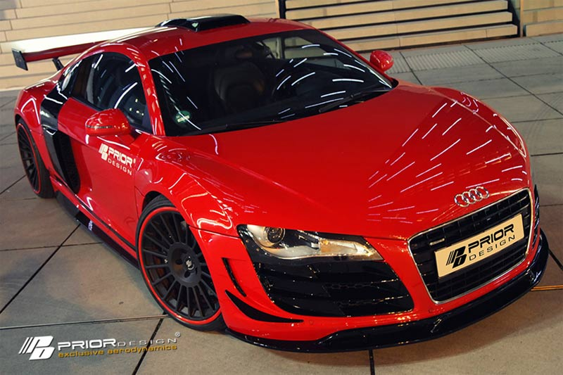 Audi R8 PD GT650 Aerodynamik-Kit von Prior Design