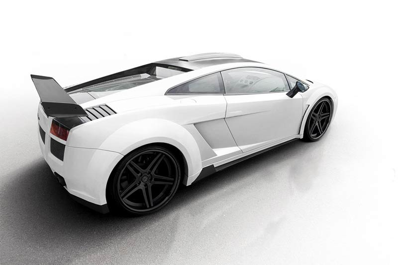 Lamborghini Gallardo PD-L800 von Prior Design - Widebody Aerodynamik-Kit