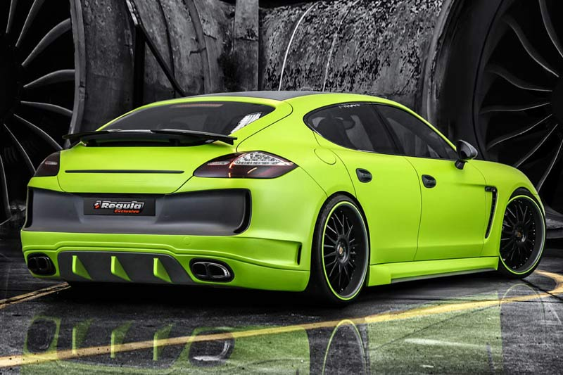 Porsche Panamera Carbon-Bodykit und Chiptuning von REGULA Exclusive