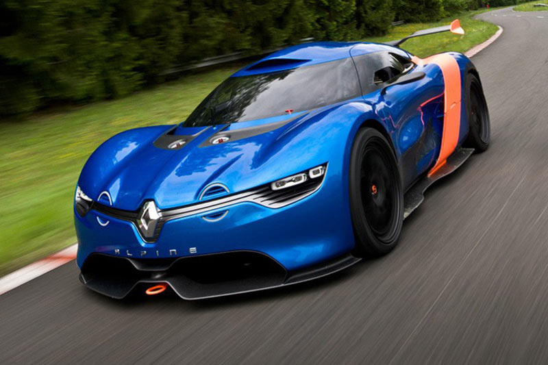 renault alpine konzept vektorgrafik - photo #8