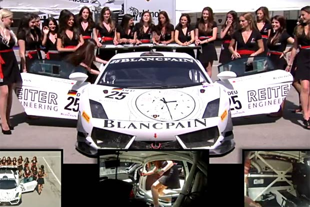 grid-girls-lamborghini