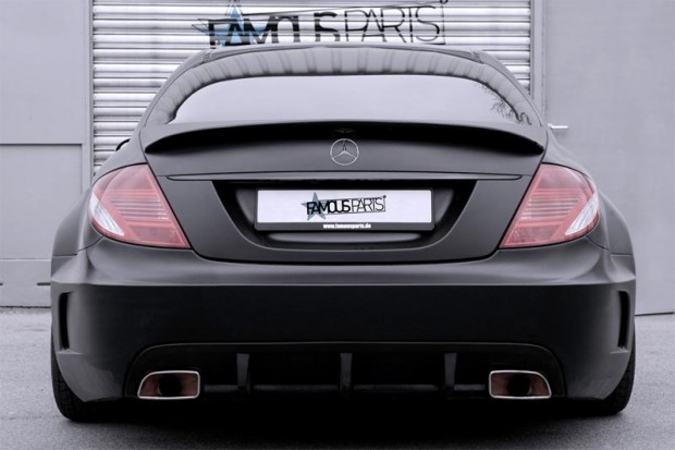 Mercedes-Benz CL 500 Premium Black Matte Edition