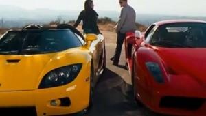 Ferrari Enzo vs. Koenigsegg CCX