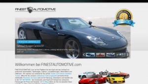 FINESTAUTOMOTIVE.com - Exklusiver Fahrzeugmarkt