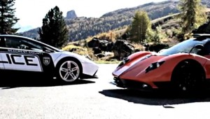 Supersportwagen Pagani Zonda Cinque gegen Lamborghini Murcielago LP640