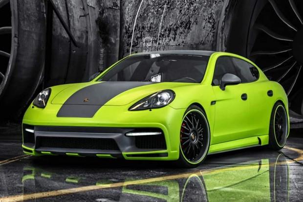 Bodykit Porsche Panamera aus Carbon