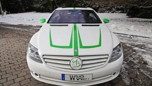 Fahrzeugfolierung Mercedes-Benz CL500