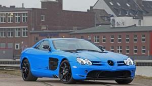 Fahrzeugfolierung Mercedes-Benz SLR McLaren