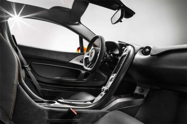 McLaren P1 Innenraum Interieur
