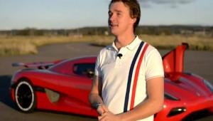 Robert Serwanski - Testfahrer Koenigsegg