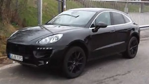 Spyvideo Porsche Macan