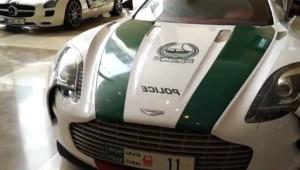 Ein Aston Martin One-77 für die Poilzei von Dubai