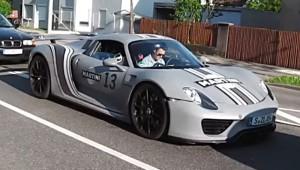 Porsche 918 Spyder Martini-Design