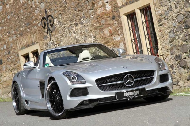 Mercedes-Benz SLS AMG Roadster Borrasca Inden Design